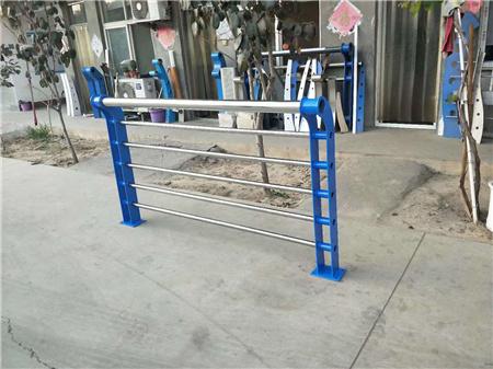 广州定制Q355B河道护栏价格实惠