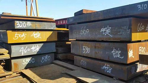 百色55Si7特厚钢板表面麻坑怎么处理